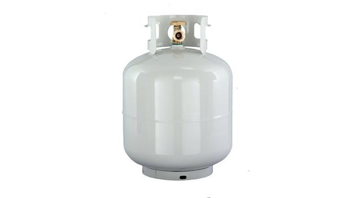 Cylindre propane vide
